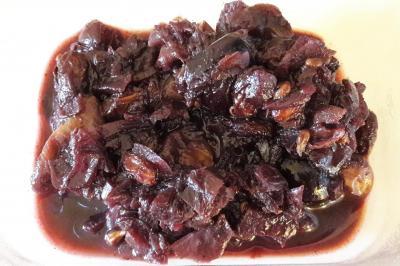 Chutney de raisins
