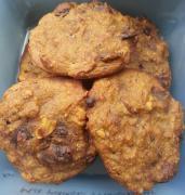 Cookies moelleux banane choco noisette